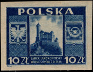 Poland 1946 Castle at Lanckorona unmounted mint.