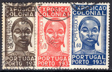 Portugal 1934 Colonnial Exhibition fine used.