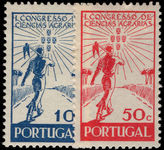 Portugal 1943 Agricultural Science lightly mounted mint.