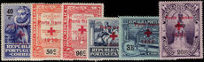 Portugal 1930 Red Cross lightly mounted mint.