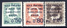 Canary Islands 1936 Air set type I unmounted mint.