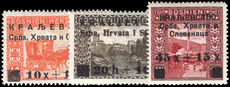 Yugoslavia 1919 Bosnia War Victims lightly mounted mint.