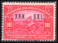 Yugoslavia 1921 Charity label unmounted mint.