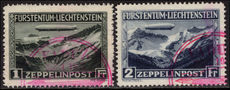 Liechtenstein 1931 Zeppelin set very fine used.