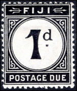 Fiji 1918 1d postage due unmounted mint.