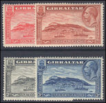 Gibraltar 1931-33 set lightly mounted mint.