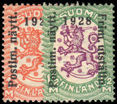 Finland 1928 Philatelic Exhibition lightly mounted mint.