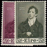Ireland 1952 Death Centenary of Thomas Moore (poet) unmounted mint
