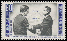 Mexico 1964 J F Kennedy unmounted mint.