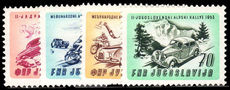 Yugoslavia 1953 Adriatic Car and Motor Cycle Rally unmounted mint.