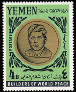 Yemen Royalist 1964 J F Kennedy unmounted mint.