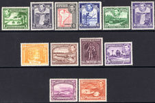 British Guiana 1938-52 set mounted mint.