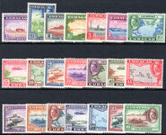 Curacao 191942-43 set lightly mounted mint.