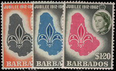 Barbados 1962 Boy Scouts unmounted mint.