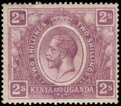 Kenya Uganda & Tanganyika 1922-27 2s dull purple lightly mounted mint.