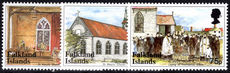 Falkland Islands 1999 St Marys Church unmounted mint.
