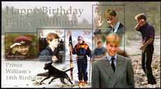 South Georgia 2000 Prince William souvenir sheet unmounted mint.