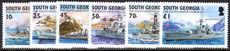 South Georgia 2004 Royal Naval Frigates unmounted mint.