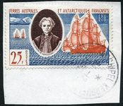 FSAT 1960 25Fr Discovery fine used on piece