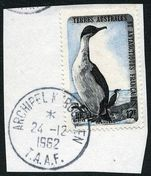 FSAT 1956-60 Cormorants fine used on piece