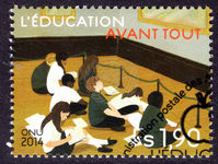 Geneva 2014 Education First fine used.