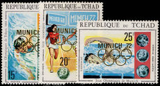 Chad 1972 Summer Olympics unmounted mint.