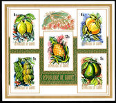 Guinea 1974 Fruits imperf souvenir sheet unmounted mint.