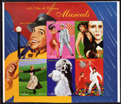 Mali 1995 Musicals sheetlet unmounted mint.