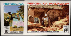 Malagasy 1972 Traditional Costumes imperf unmounted mint.
