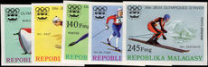 Malagasy 1975 Winter Olympics set imperf unmounted mint.