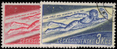 Czechoslovakia 1961 Worlds First Manned Space Flight fine used.