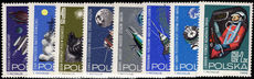 Poland 1964 Space Research unmounted mint.