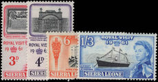 Sierra Leone 1961 Royal Visit unmounted mint.
