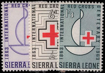 Sierra Leone 1963 Red Cross unmounted mint.
