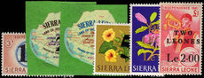Sierra Leone 1964-66 decimal 2nd issue postage set unmounted mint.
