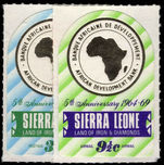 Sierra Leone 1969 African development Bank unmounted mint.