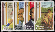 Sierra Leone 1981 Duke of Edinburgh Award unmounted mint.
