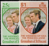 St Vincent Grenadines 1973 Royal Wedding unmounted mint.
