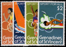 St Vincent Grenadines 1980 Sport for All unmounted mint.