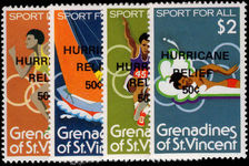 St Vincent Grenadines 1980 Hurricane Relief unmounted mint.