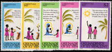 St Vincent Grenadines 1980 Christmas unmounted mint.
