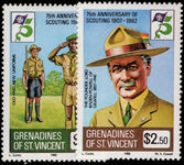 St Vincent Grenadines 1982 Boy Scouts unmounted mint.