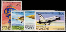 St Vincent Grenadines 1983 Manned Flight unmounted mint.