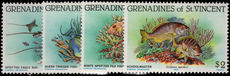 St Vincent Grenadines 1984 Reef Fish unmounted mint.