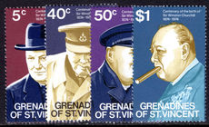 St Vincent Grenadines 1974 Birth Centenary of Sir Winston Churchill unmounted mint.