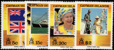 Cayman Islands 1994 Royal Visit unmounted mint.