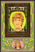 Chad 1982 21st Birthday Of Princess Diana 2nd issue souvenir sheet unmounted mint.