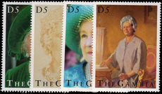 Gambia 1995 Queen Mothers 95th Birthday unmounted mint.