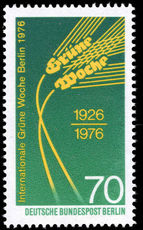 Berlin 1975 Agriculture Week unmounted mint.