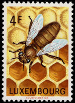 Luxembourg 1973 Bee-keeping unmounted mint.